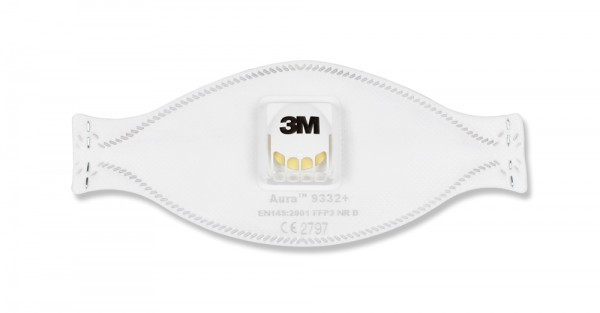 Feinstaubmaske FFP3 mit Ventil von 3M 9189332a
