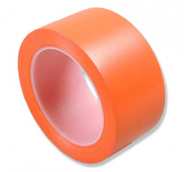 PVC-Klebeband Advance, orange, glatt