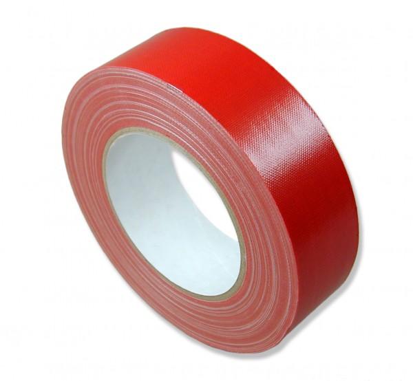 Gewebeband, rot, Standartqualität 5449038