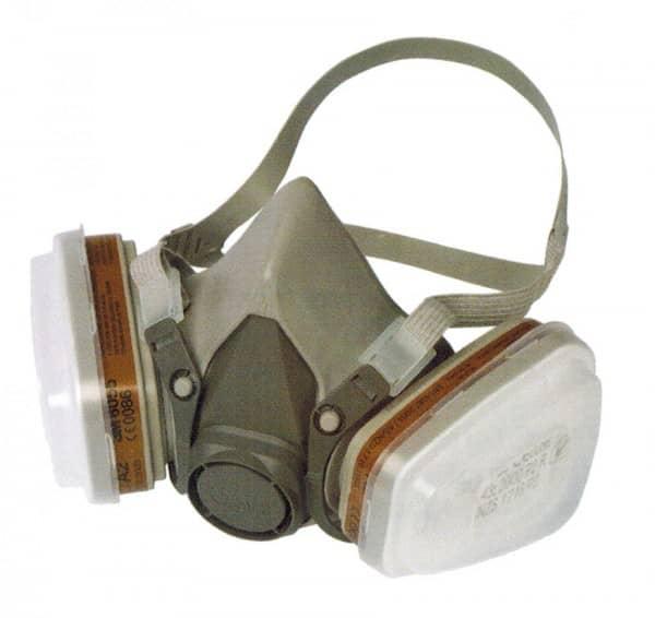Doppelfilter Atemschutzmaske