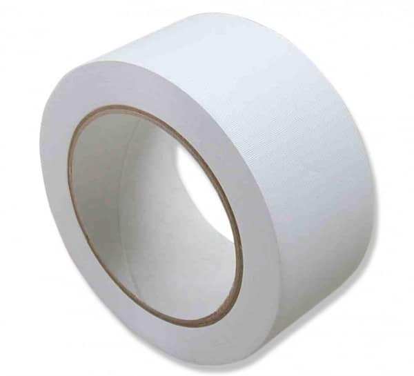 PVC-Klebeband, weiß, quergerillt