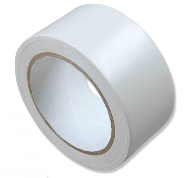 PVC-Klebeband, weiß, glatt