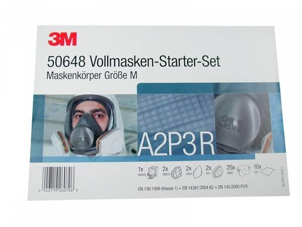 3M Vollmasken Starter-Set 9168500